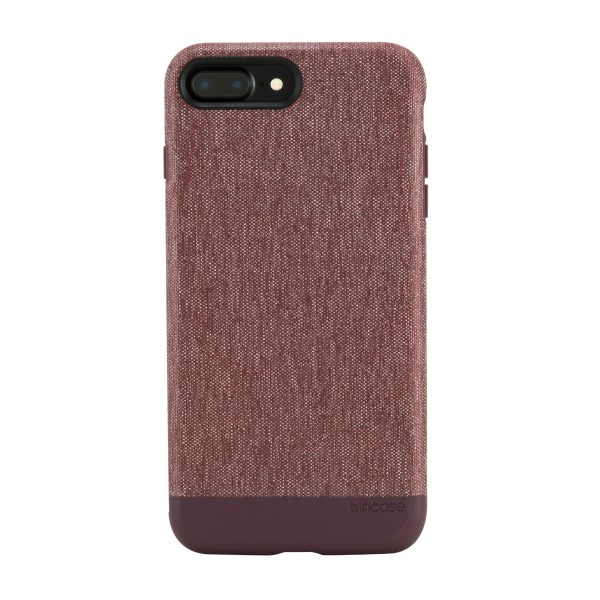 [INCASE]  iPhone7 Plus 케이스/ Textured Snap for iPhone 7 Plus - Heather Deep Red