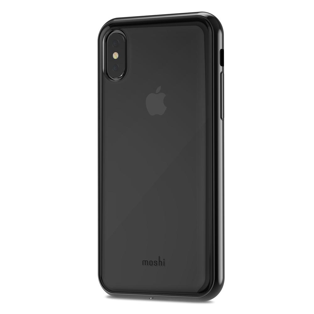 [Moshi] iPhone X 비트로스 투명 소프트케이스- 레이븐 블랙