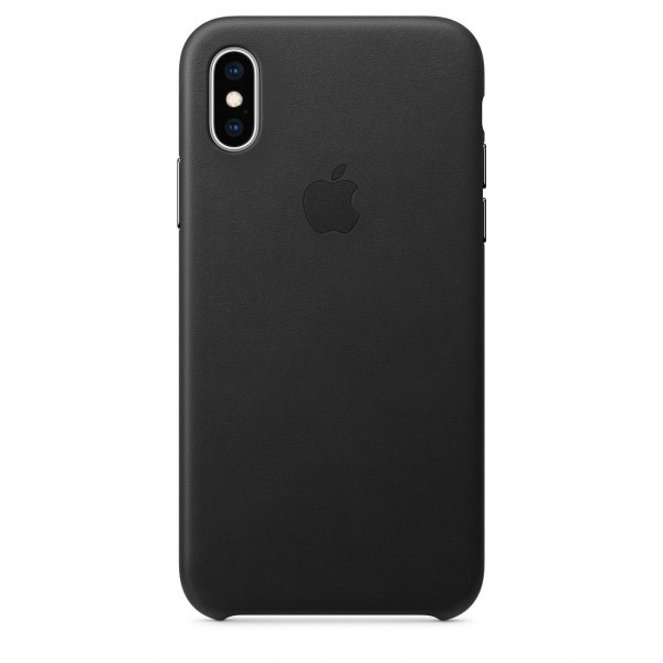 iPhone XS Max Leather Case Black MRWT2FE/A