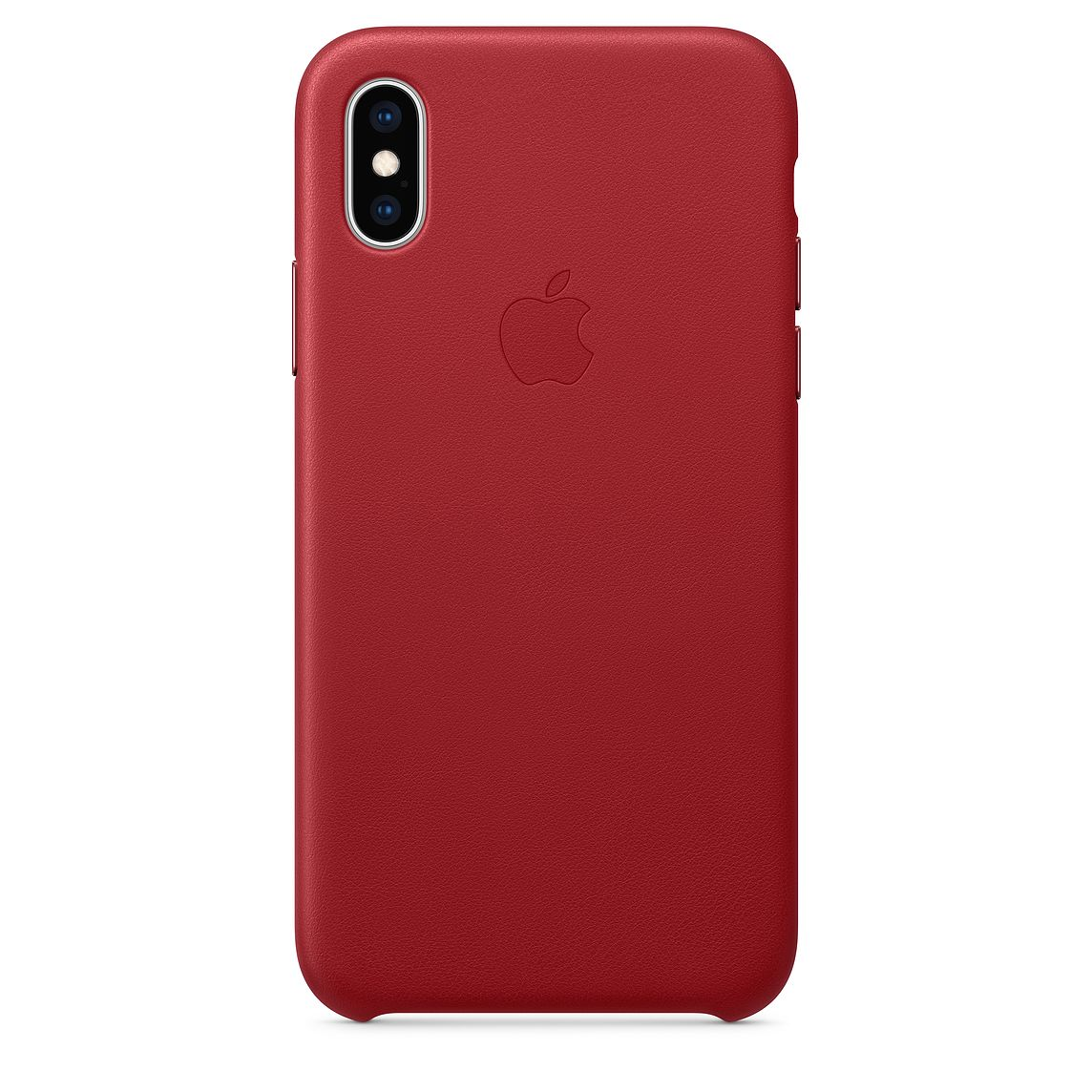 iPhone XS Max Leather Case Red MRWQ2FE/A