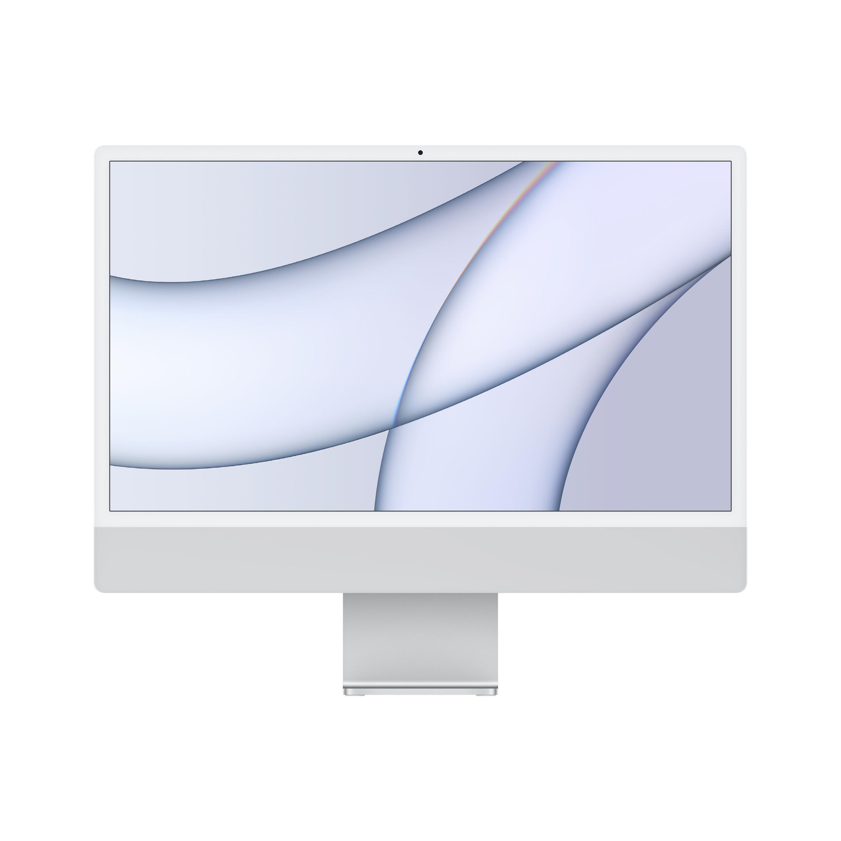iMac 24 8C CPU/7C GPU/8GB/256GB 실버 MGTF3KH/A