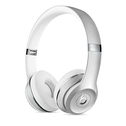 Beats Solo3 Wireless 헤드폰 - 실버 MNEQ2ZP/A