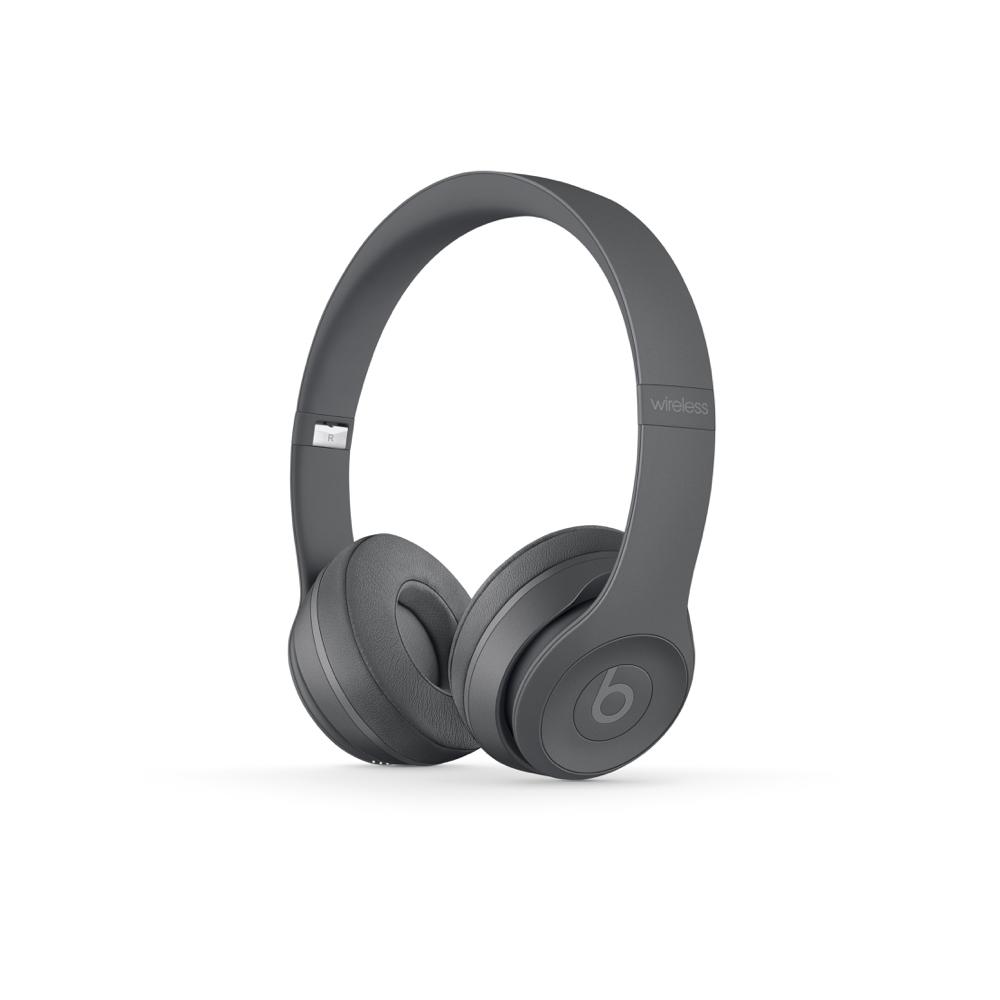 Beats Solo3 Wireless 헤드폰 - Neighborhood Collection - 아스팔트그레이 MPXH2PA/A