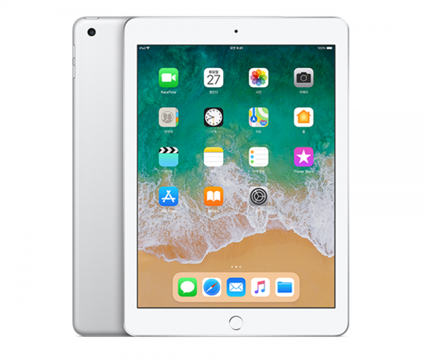 iPad Wi-Fi + Cellular 128GB Silver MR732KH/A